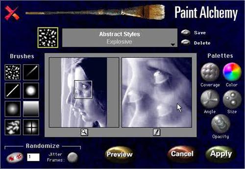 Paint Shop Pro Lithograph